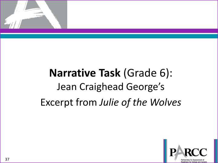 Narrative Task