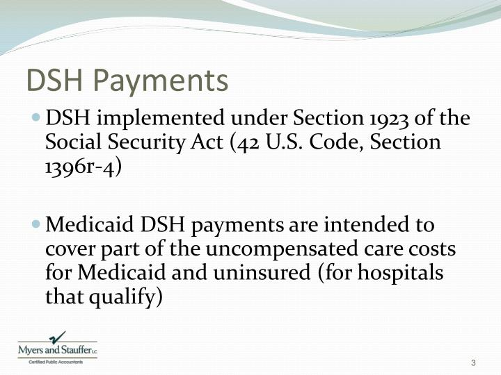 DSH Payments