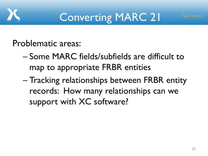 Converting MARC 21