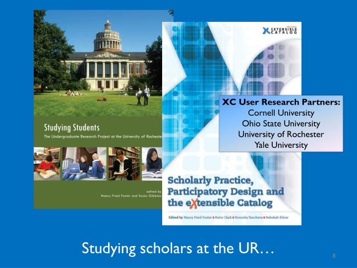 XC User Research Partners: