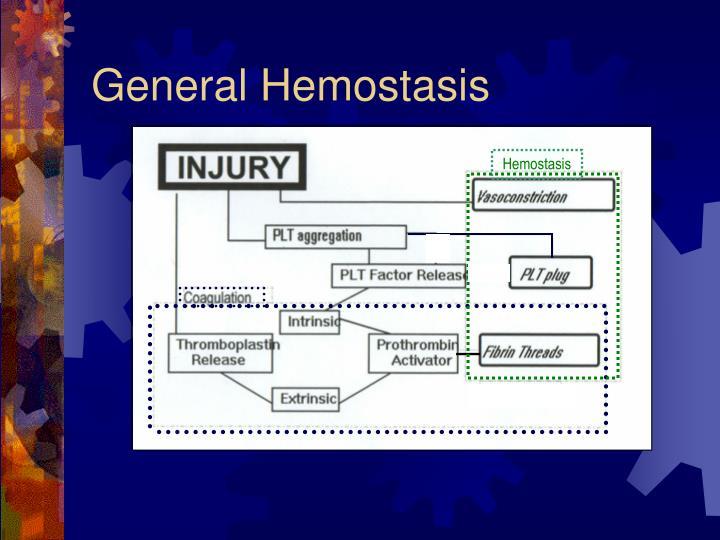 General Hemostasis