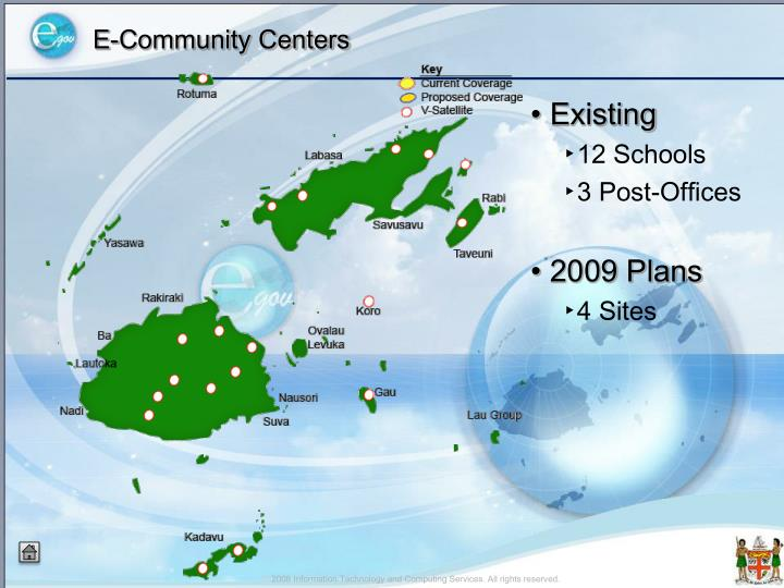 E-Community Centers