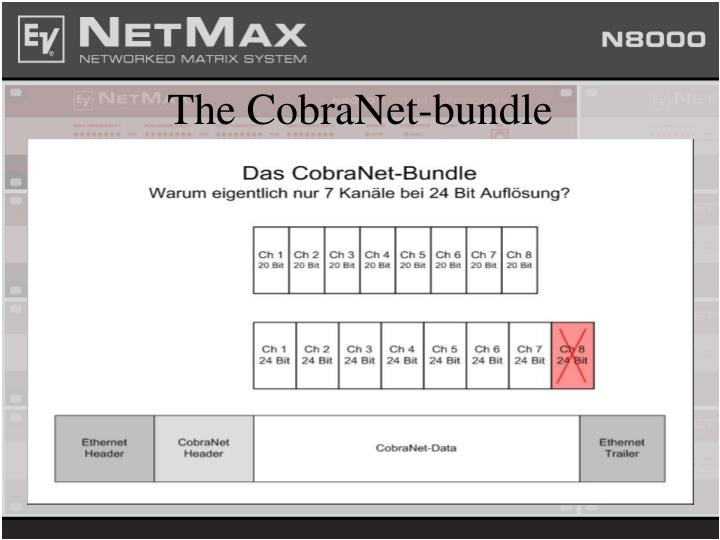The CobraNet-bundle