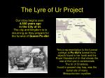 the lyre of ur project2