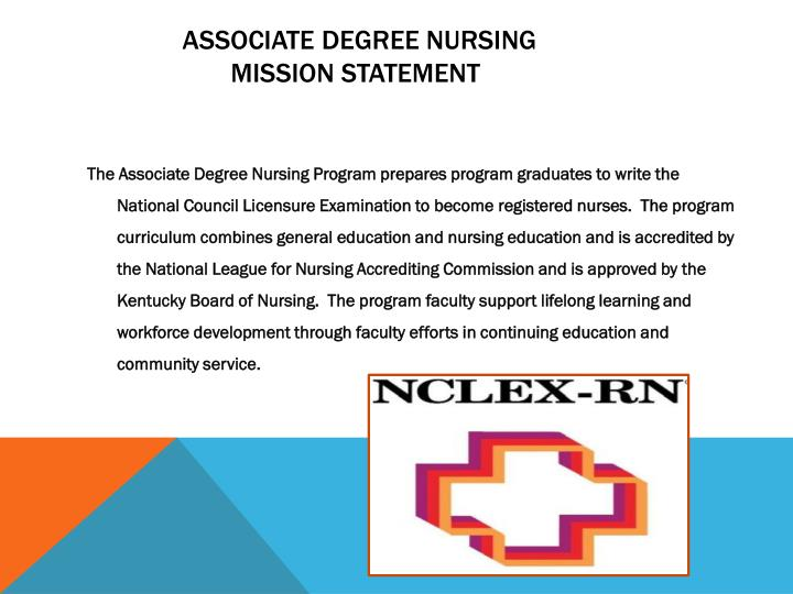 Associate degree nursing mission statement