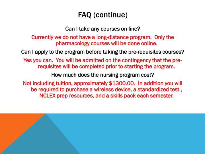 FAQ (