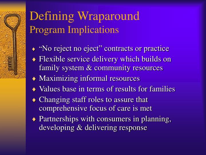 Defining Wraparound
