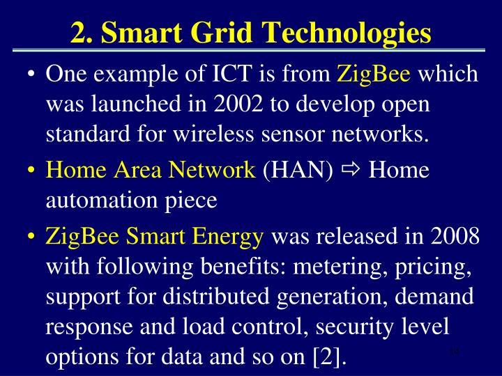 2. Smart Grid Technologies