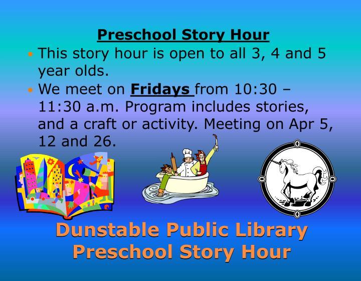 Preschool Story
