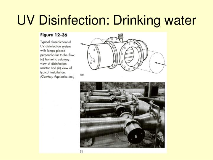 UV Disinfection: Drinking water