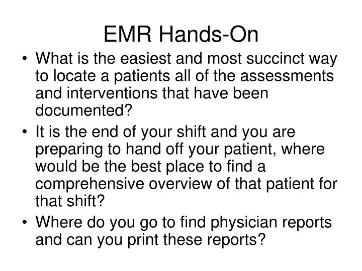 EMR Hands-On