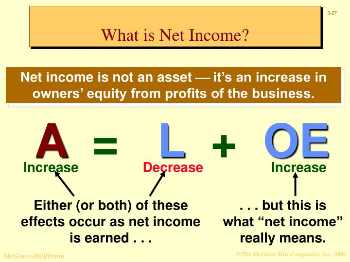 What is Net Income?