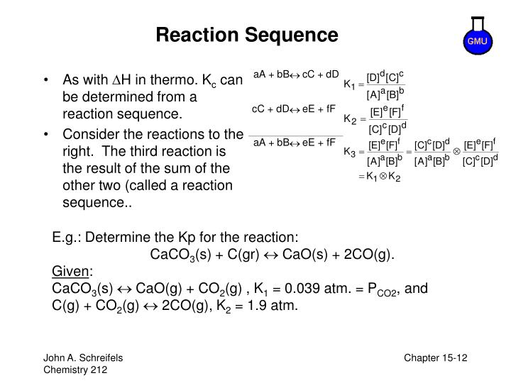 Reaction Sequence