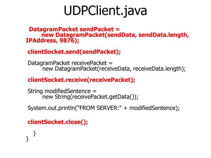 UDPClient.java