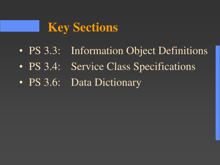 PS 3.3:	Information Object Definitions