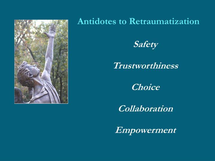 Antidotes to