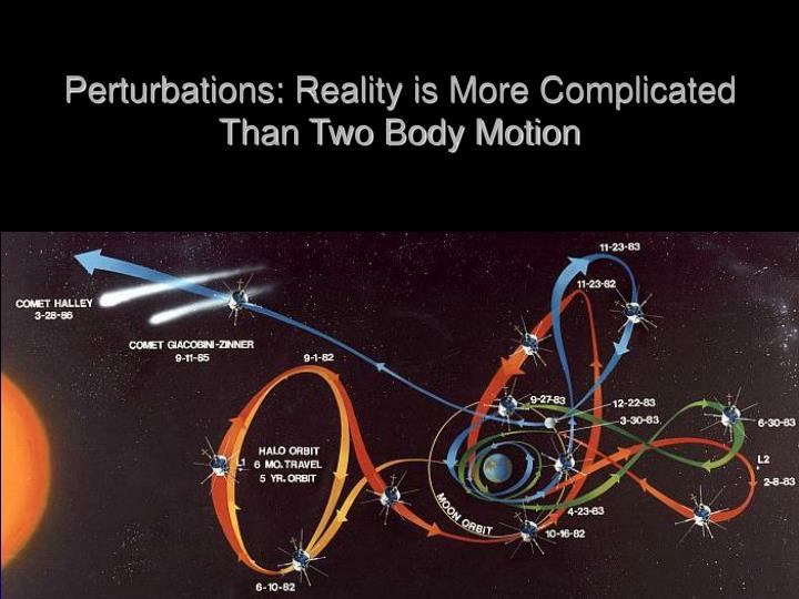 Perturbations: Reality is More Complicated Than Two Body Motion