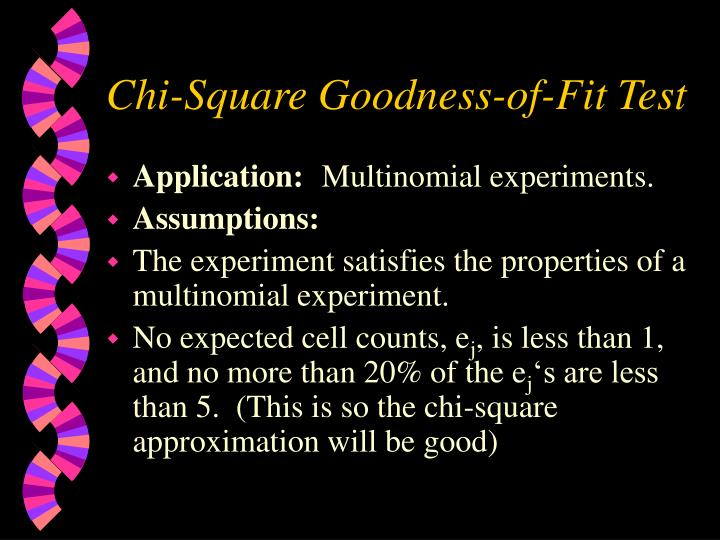 Chi-Square Goodness-of-Fit Test