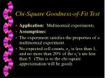chi square goodness of fit test