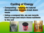 cycling of energy1