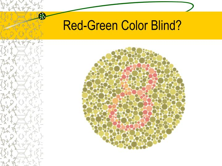 Red-Green Color Blind?