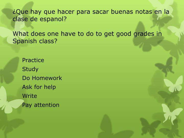 Do my homework en espanol