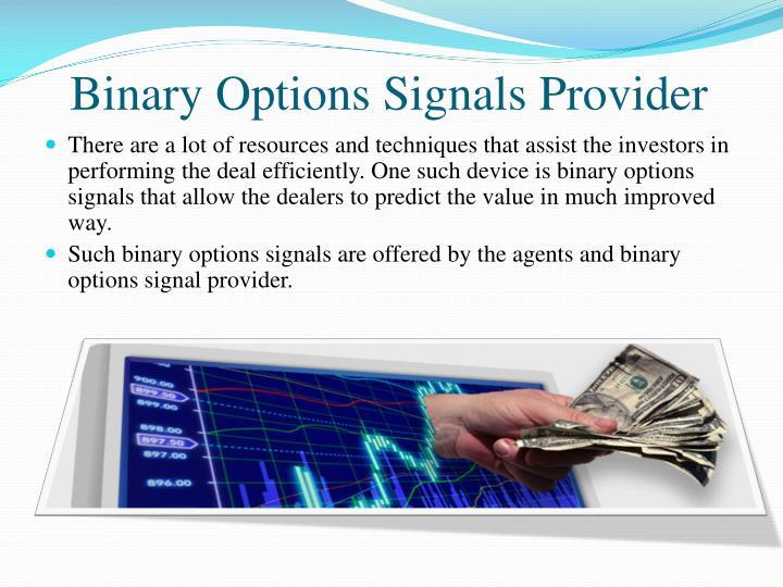 Binary Options Signals Provider