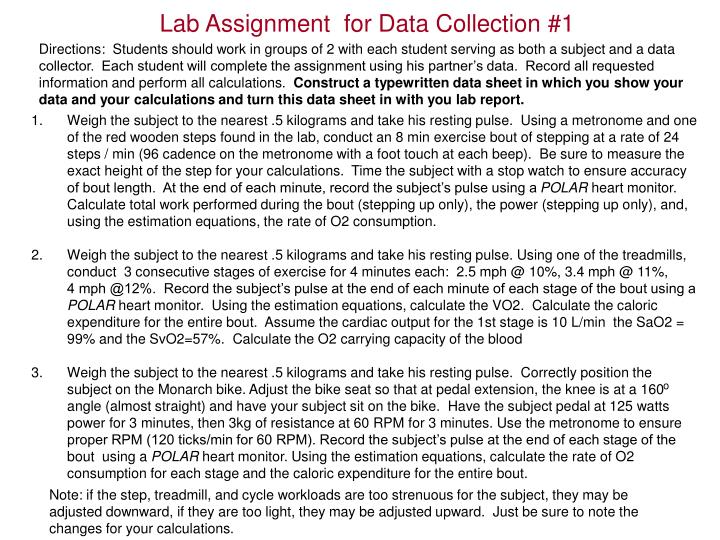 Lab Assignment  for Data Collection #1