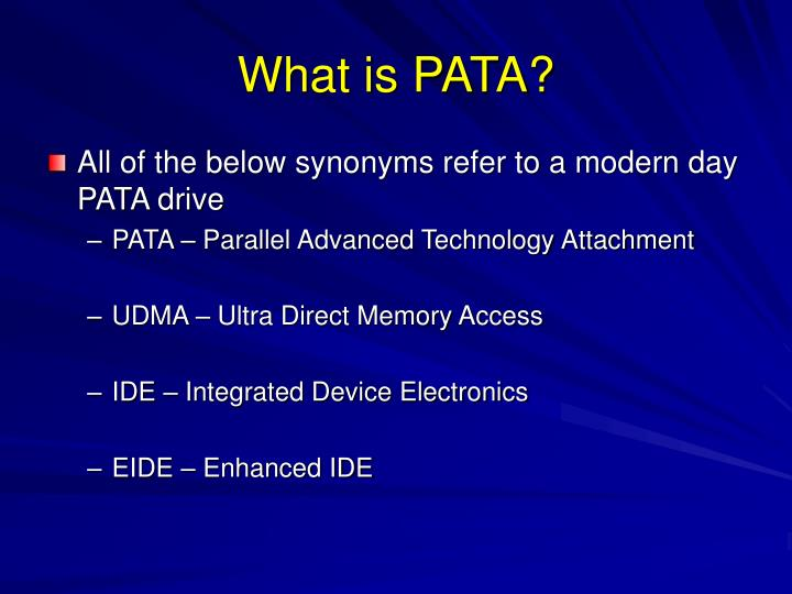 What is PATA?