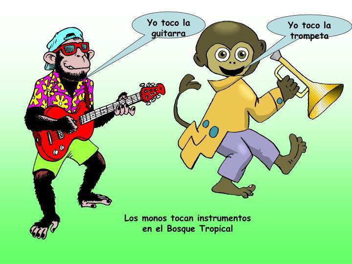 Yo toco la guitarra