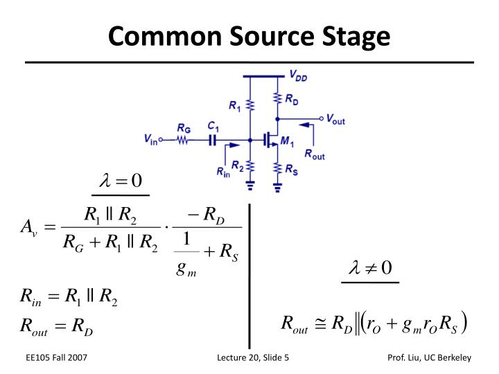 Common Source Stage
