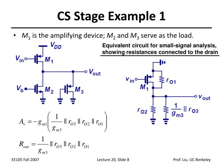 CS Stage Example 1
