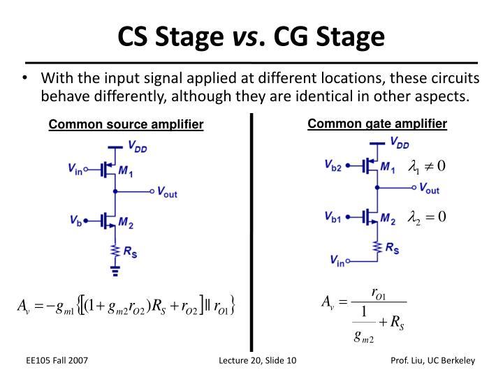 CS Stage