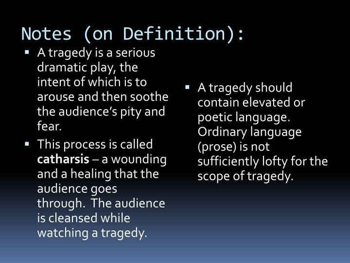 Notes (on Definition):