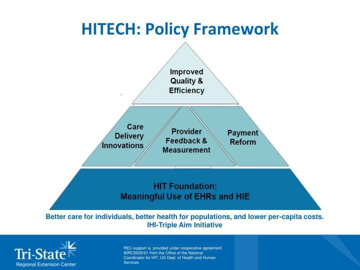 HITECH: Policy Framework