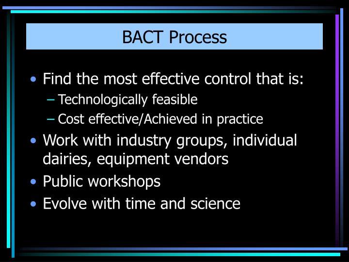 BACT Process