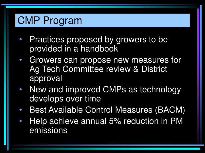 CMP Program