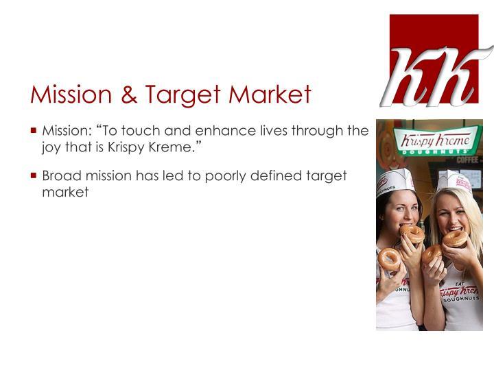 Mission & Target Market