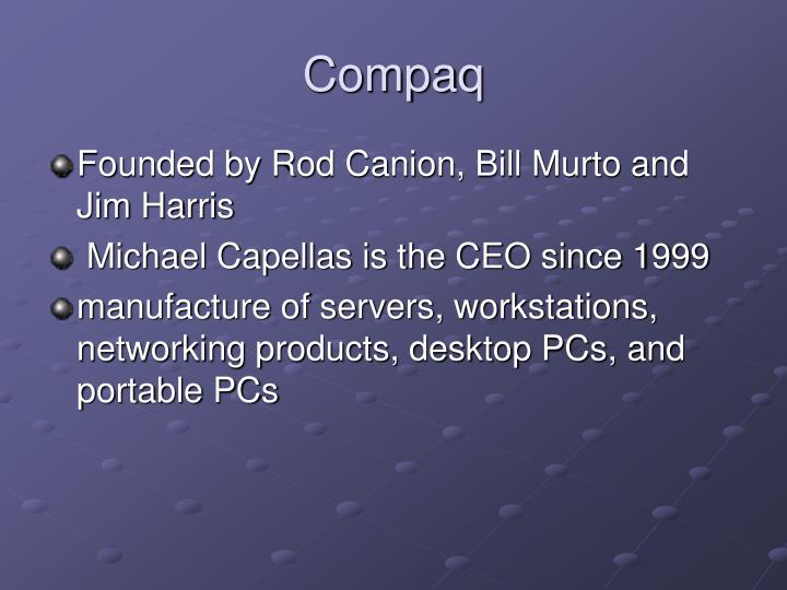 merger of hewlett packard and compaq Winning shareholder support for hewlett-packard's proposed merger with  compaq has been difficult for executives at both companies who are.