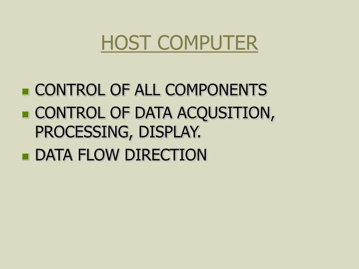 HOST COMPUTER