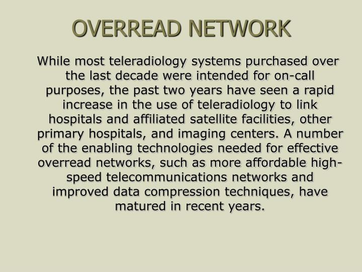 OVERREAD NETWORK