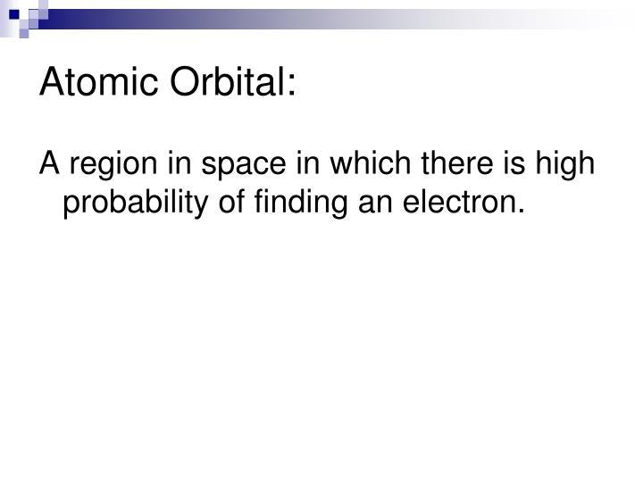 Atomic Orbital: