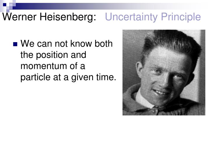 Werner Heisenberg: