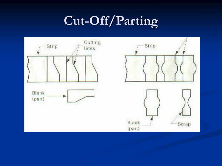 Cut-Off/Parting