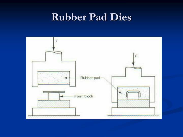 Rubber Pad Dies