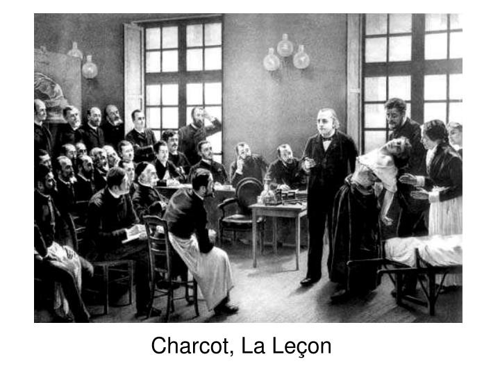 Charcot, La Leçon