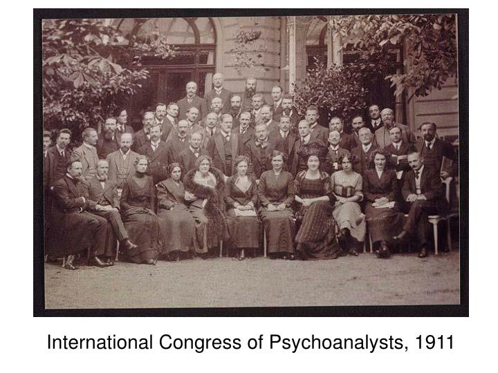 International Congress of Psychoanalysts, 1911