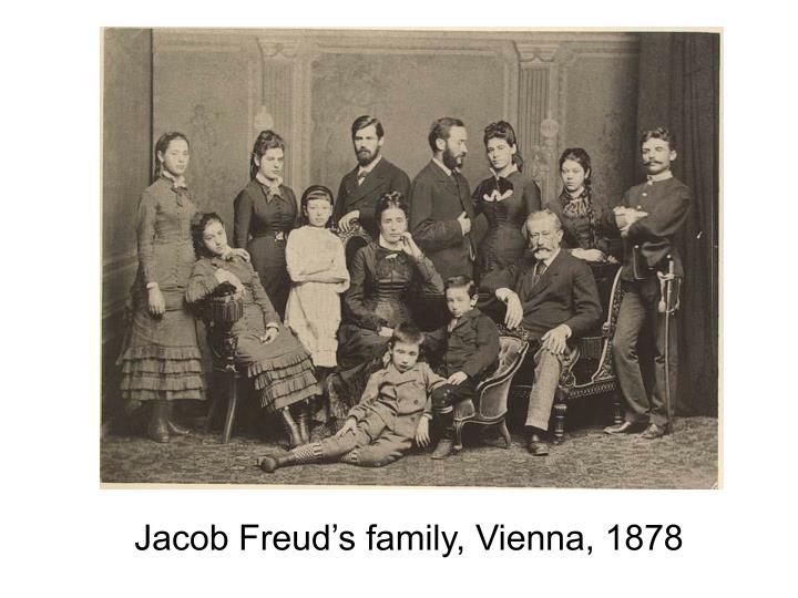 Jacob Freud's family, Vienna, 1878