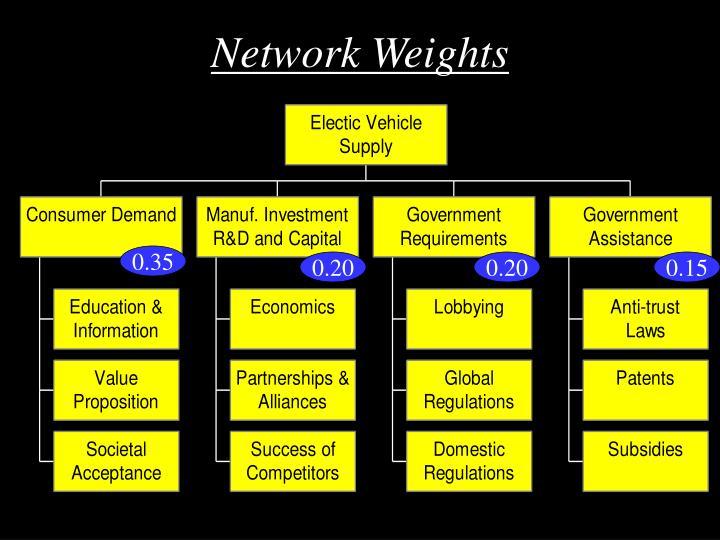 Network Weights