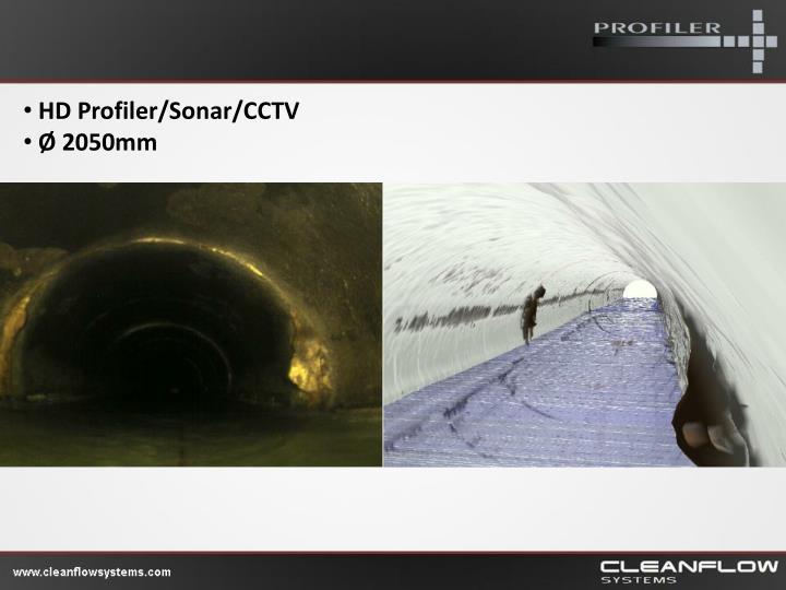 HD Profiler/Sonar/CCTV